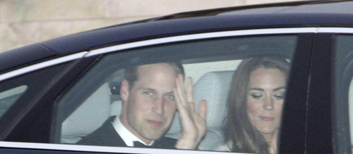 Kate et William: ça y est, ils sont rentrés!