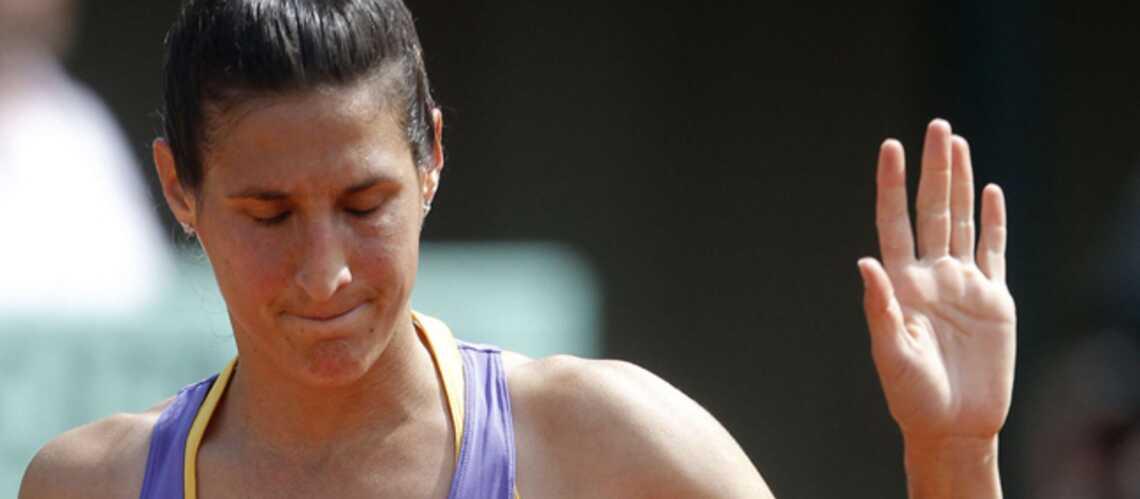 Roland-Garros: Virginie Razzano, à l'épreuve de la force