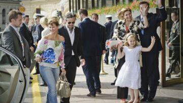 La famille du Gotha débarque à Stockholm