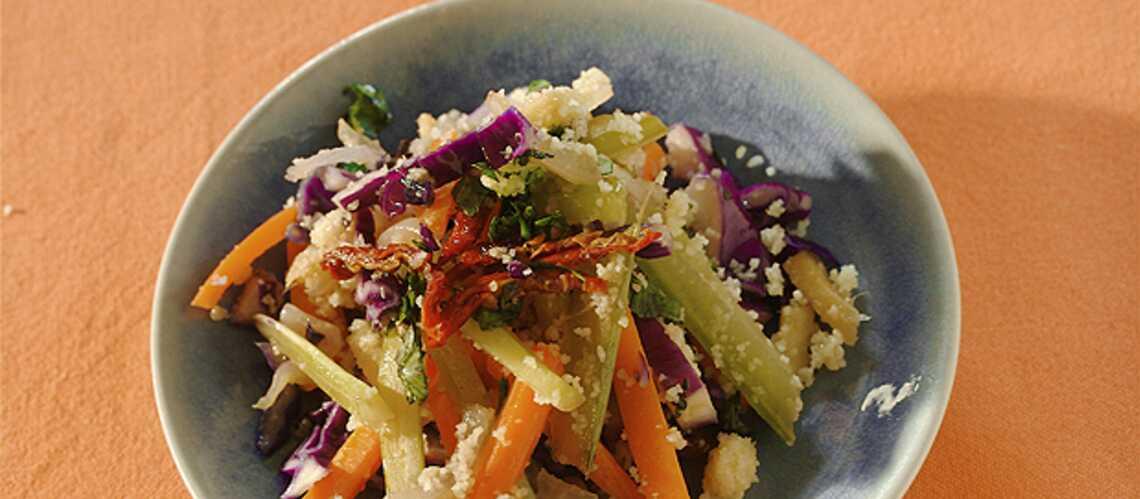 Naomi Watts: couscous de légumes