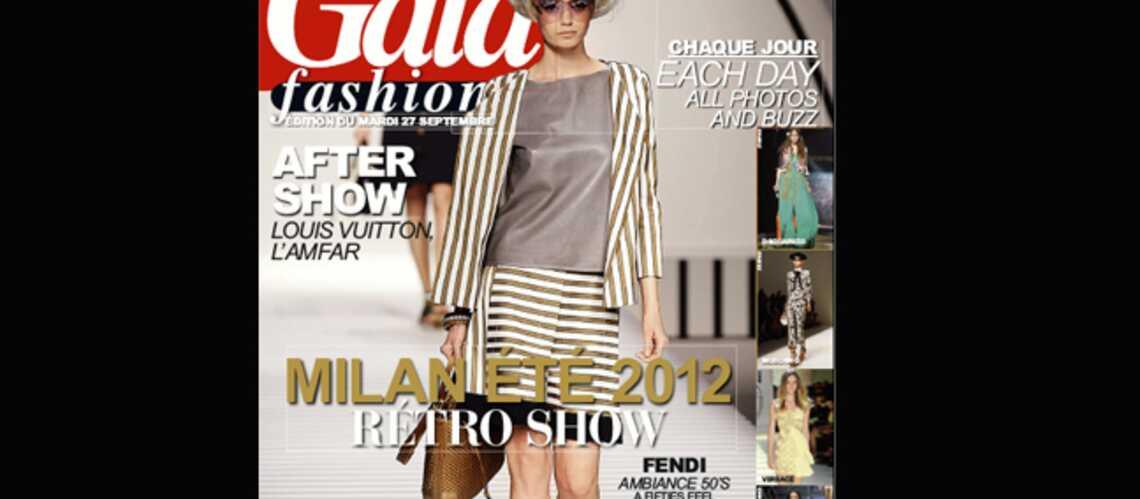 Feuilletez l'édition du jour de Gala Fashion! (27/09/2011)