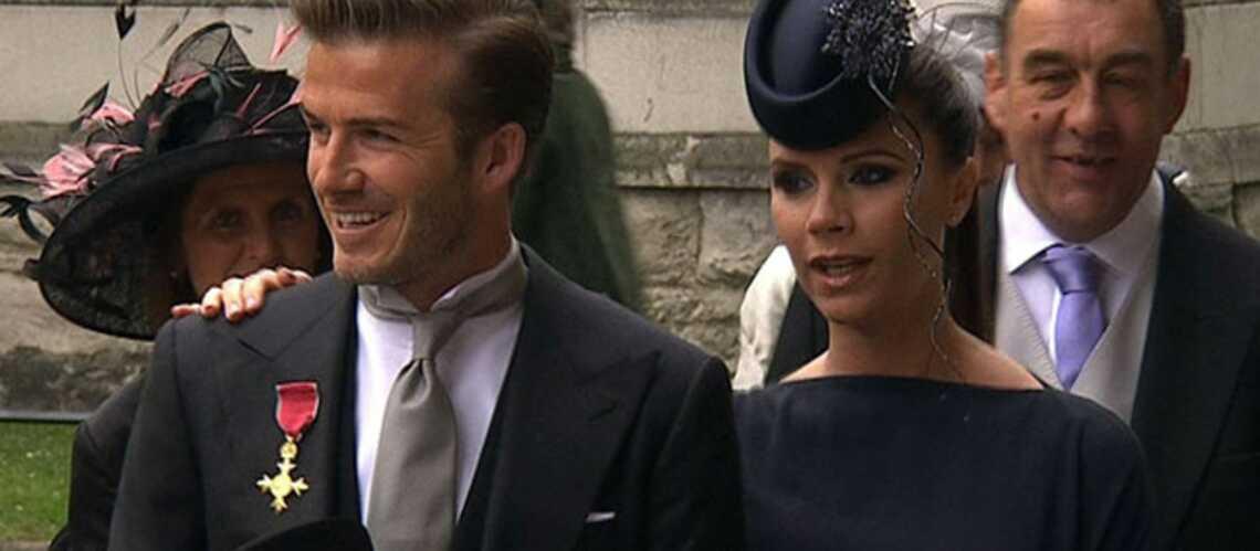 Mariage Royal: le couple Beckham époustouflant