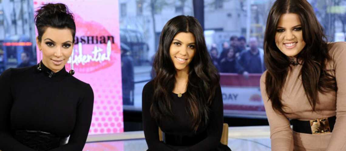 Kim, Kourtney et Khloe Kardashian: belles jusqu'au bout des ongles