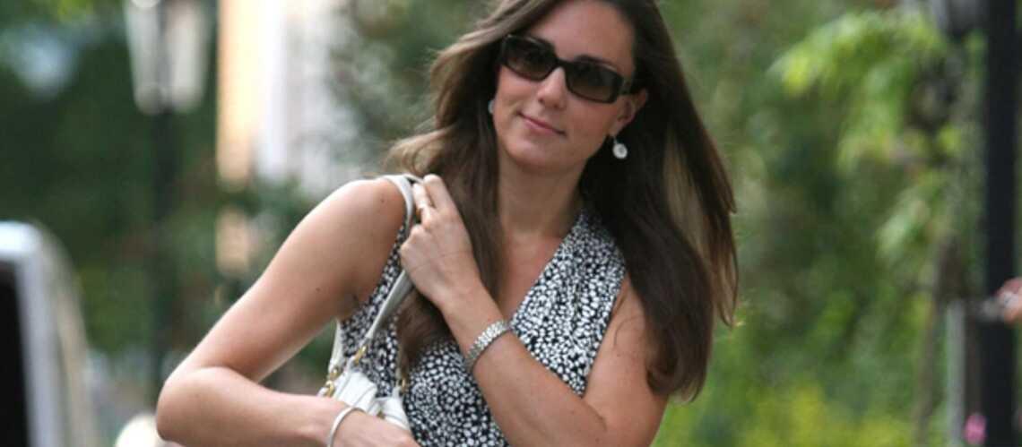 Kate Middleton joue les icônes de mode