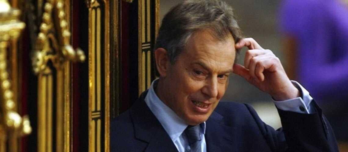Tony Blair sent le brûlé