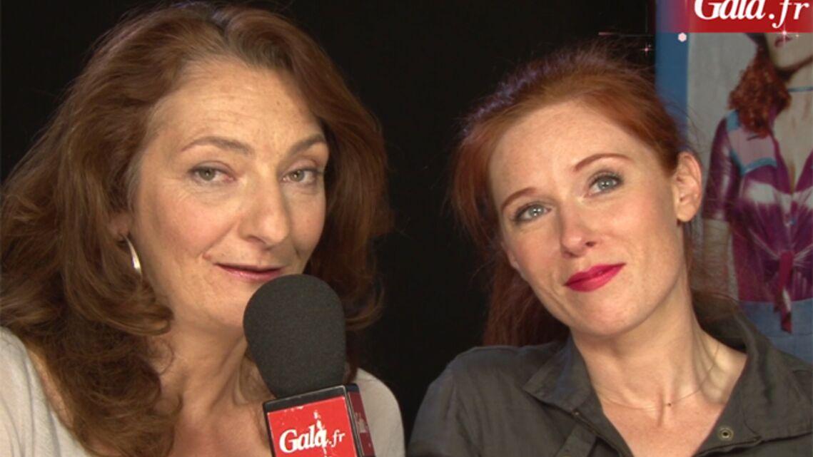 Vidéo- Audrey Fleurot et Corinne Masiero, vraies reines du ring