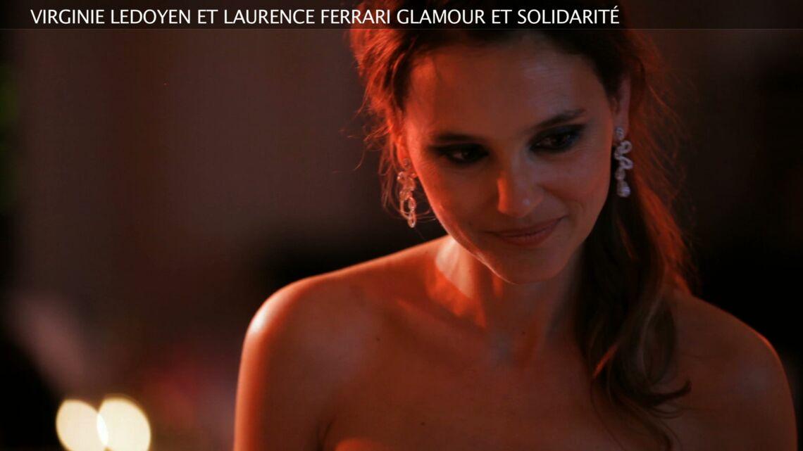 Vidéo- Virginie Ledoyen, glamour et solidarité à Cannes