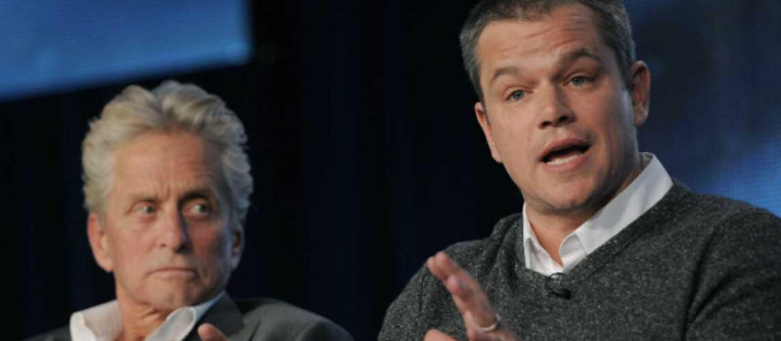 Vidéo – Michael Douglas dans un bain moussant avec Matt Damon