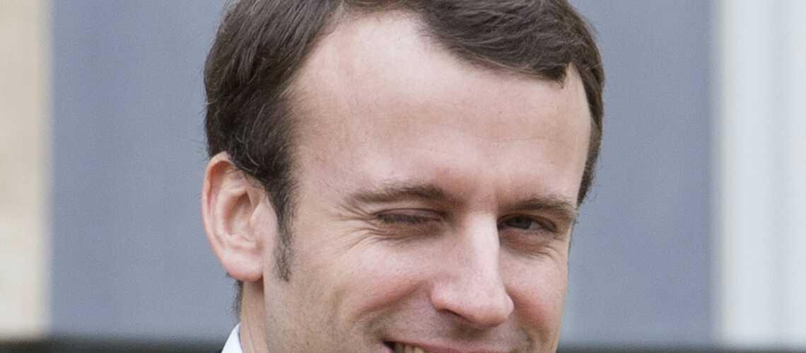 Avec les paparazzi, Emmanuel Macron a sa technique