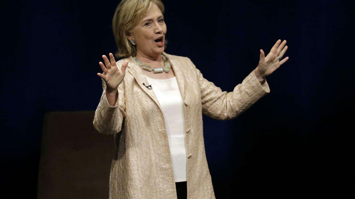 Vidéo- Hillary Clinton, future grand-mère funky