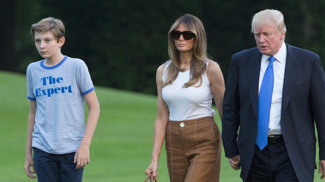 VIDEO – Barron et Melania Trump ont officiellement déménagé à la Maison Blanche