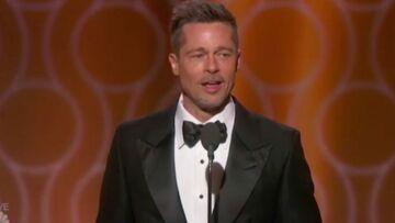VIDEO – Brad Pitt acclamé et soutenu par le tout-Hollywood aux Golden globes 2017
