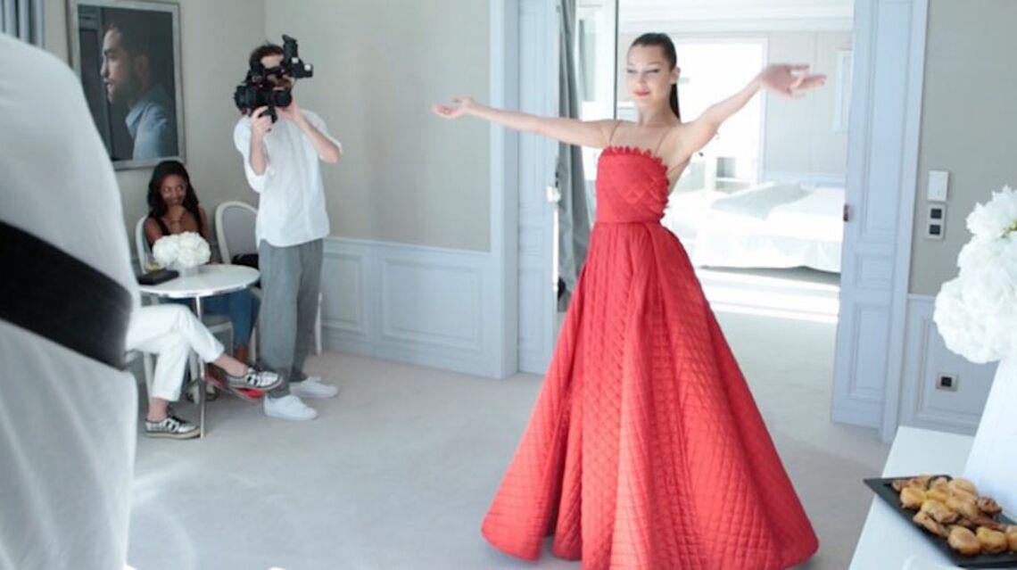 VIDEO- Bella Hadid vous ouvre les portes de sa suite…