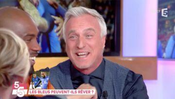 VIDEO – David Ginola gêné par un compliment de Teddy Riner, l'ex-footballeur rougit
