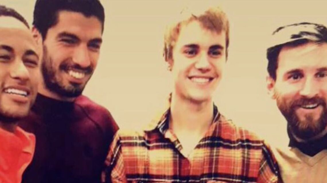 VIDEO – Justin Bieber s'entraîne avec le footballeur Neymar