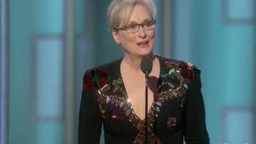VIDEO – Golden Globes: Meryl Streep fait un discours captivant, à charge contre Donald Trump