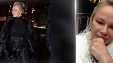 VIDEO – Pamela Anderson offre à Melania Trump un manteau en fourrure vegan