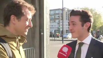 VIDEO – La proposition coquine d'un militant filloniste à Hugo Clément de «Quotidien»