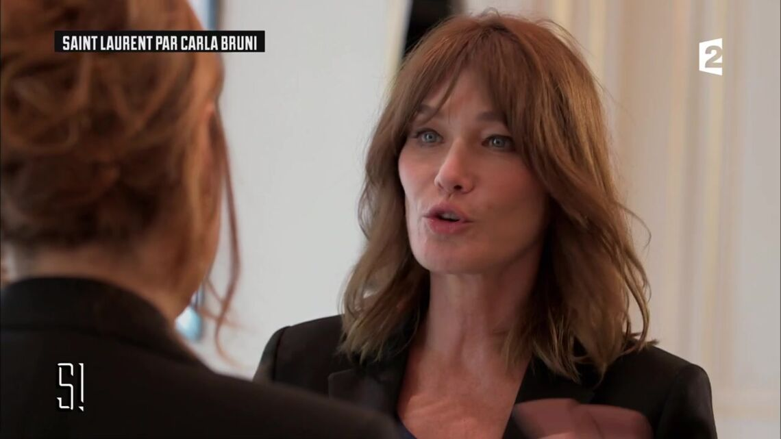 VIDEO – Carla Bruni-Sarkozy fait une rare confidence: «Moi, je suis assez dépressive»