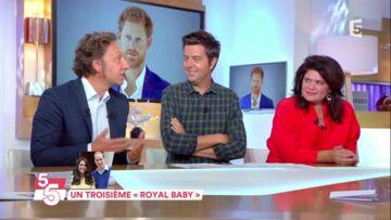VIDEO – Stéphane Bern pense que Kate Middleton choisira un prénom classique pour son troisième enfant