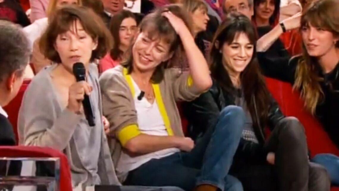 Vidéo – Kate Barry et ses soeurs, en famille chez Michel Drucker