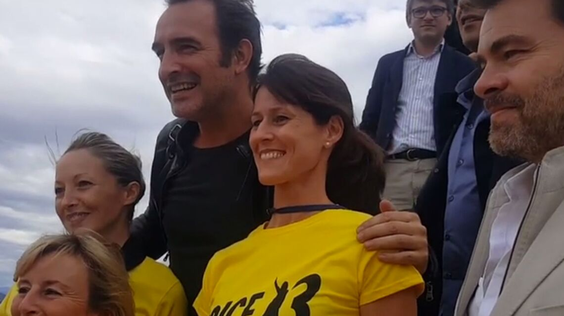 VIDEO – Jean Dujardin: un accueil de folie à Nice, pour «Brice de Nice 3»
