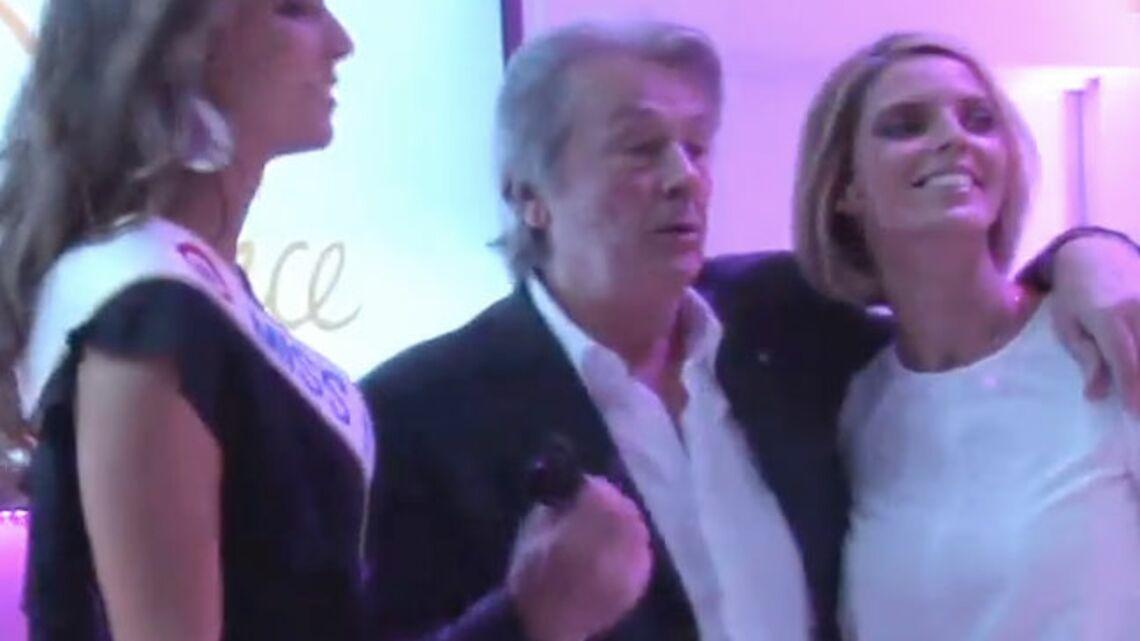 Vidéo- Pour Alain Delon, Miss France doit être belle avant tout!