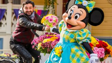 Cyril Hanouna, Marie Gilain… flower power à Disney­land Paris