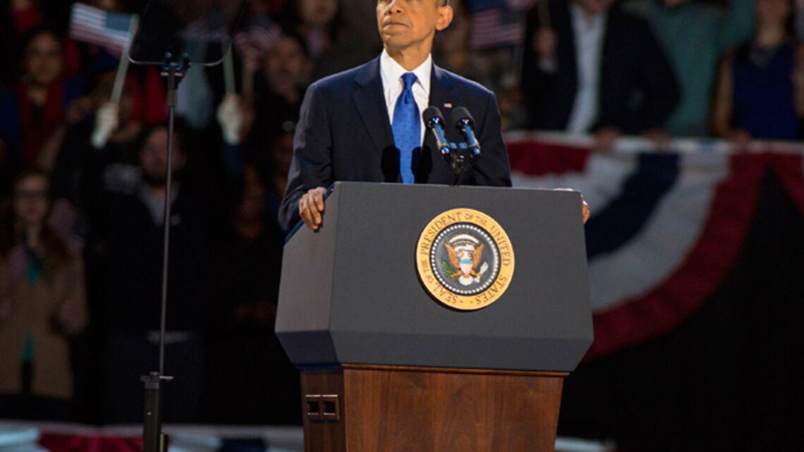 Vidéo- Barack Obama fend l'armure