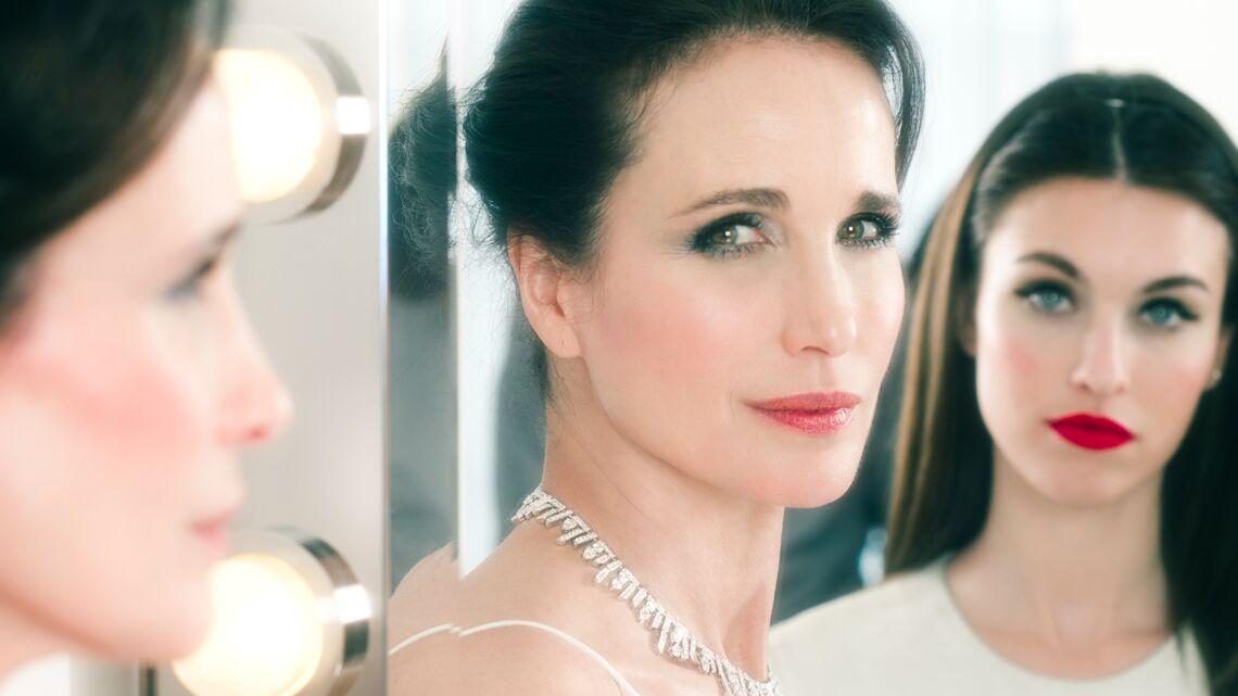 Making-of: Andie MacDowell, star du spécial Fête des Mères de Gala