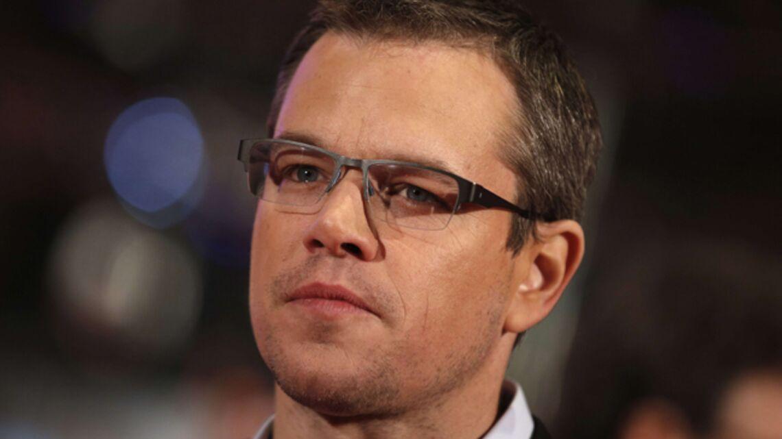 Vidéo- Matt Damon menace de faire la grève des toilettes