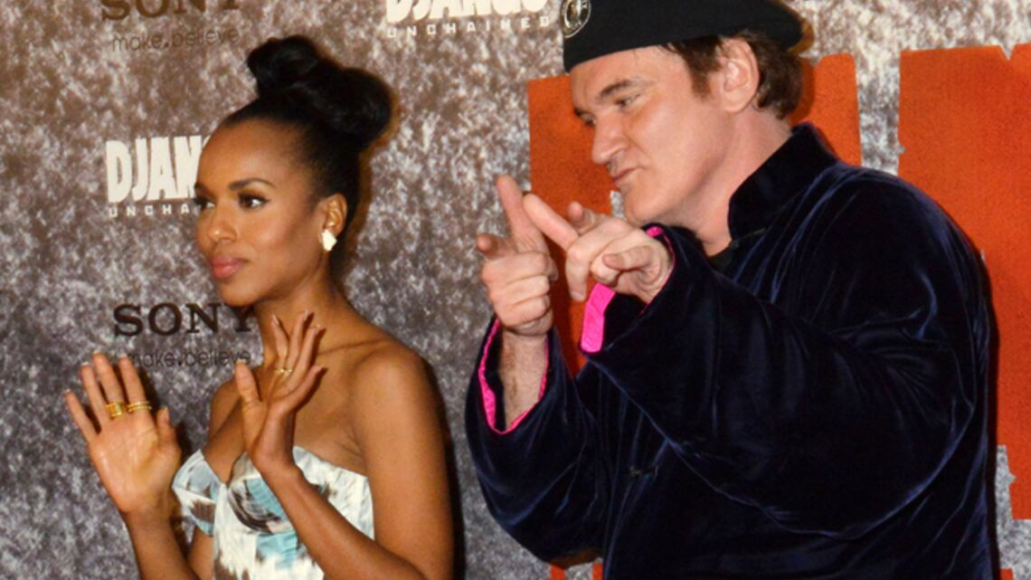 Vidéo- Quentin Tarantino à Paris pour Django Unchained