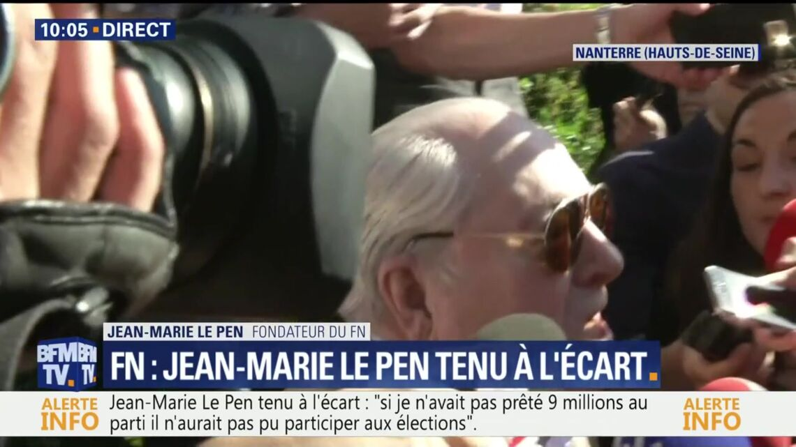 VIDEO – Le jour de son anniversaire, Jean-Marie Le Pen interdit d'accès au FN, dézingue sa fille