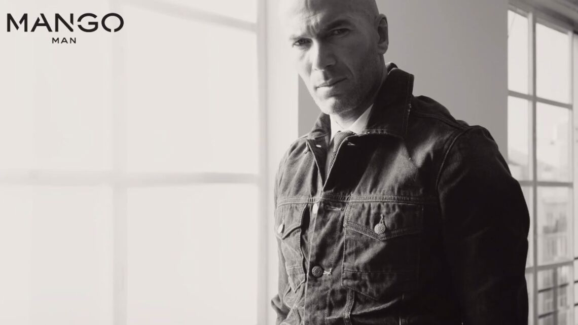 Zinedine Zidane, l'homme de Mango