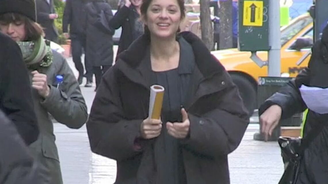 Vidéo- Marion Cotillard à New York: Action!