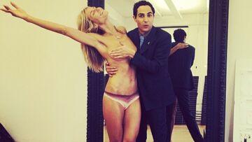 Heidi Klum: couvrez ce sein que je ne saurais voir!
