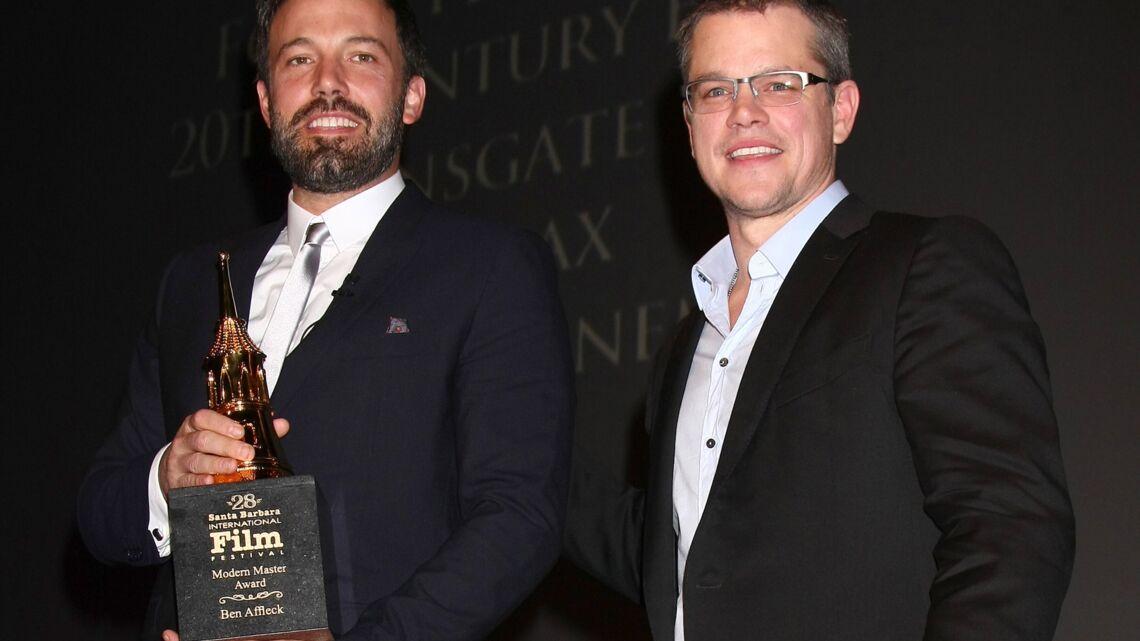 Matt Damon et Ben Affleck à l'affiche de leur nouveau projet