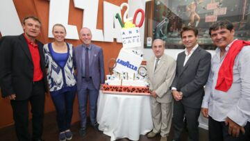 Gala By Night: Mats Wilander, Toni Nadal, Fabrice Santoro fêtent Lavazza