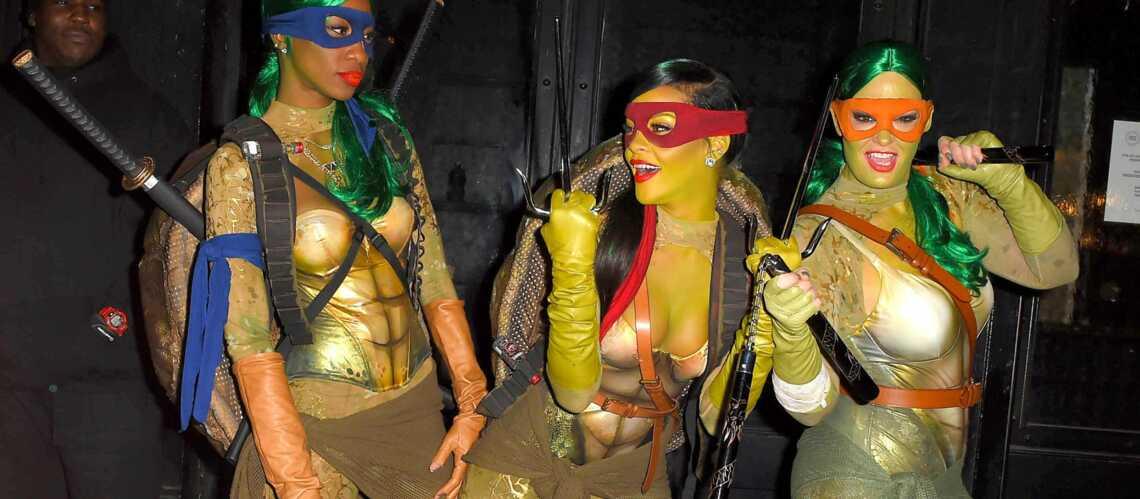 Rihanna, Mel B, Claudia Schiffer: une créativité sans bornes pour Halloween