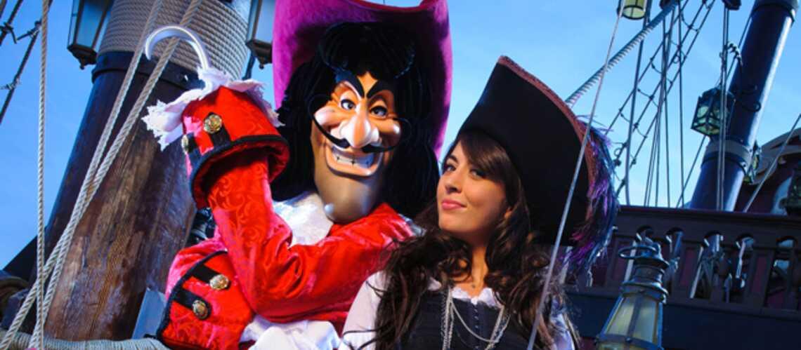 Photos- Nolwenn Leroy et Virginie Ledoyen, peur bleue à Disneyland