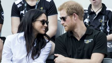 Meghan Markle et le prince Harry surpris en plein bisou