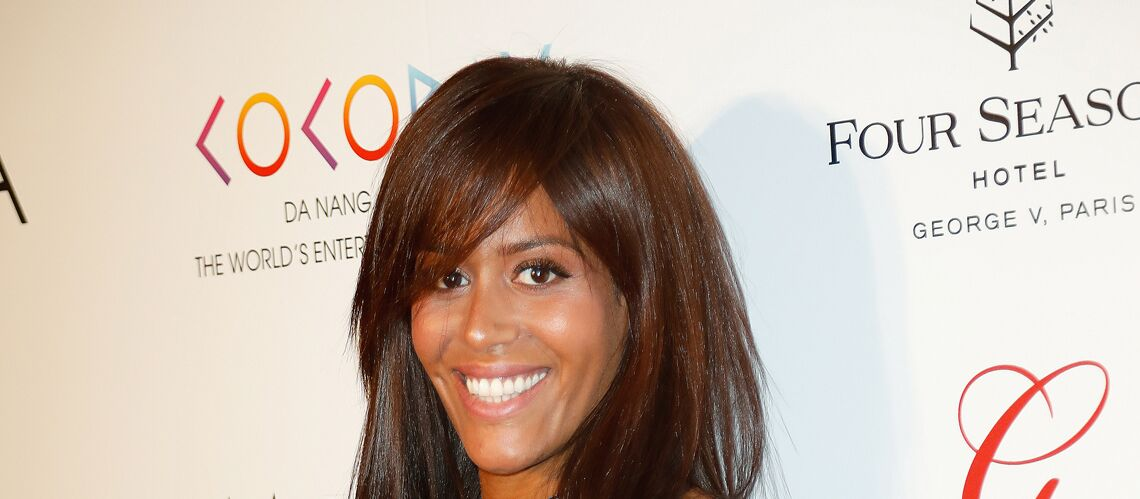PHOTO – La fille d'Amel Bent est craquante : la chan­teuse gaga de la fillette