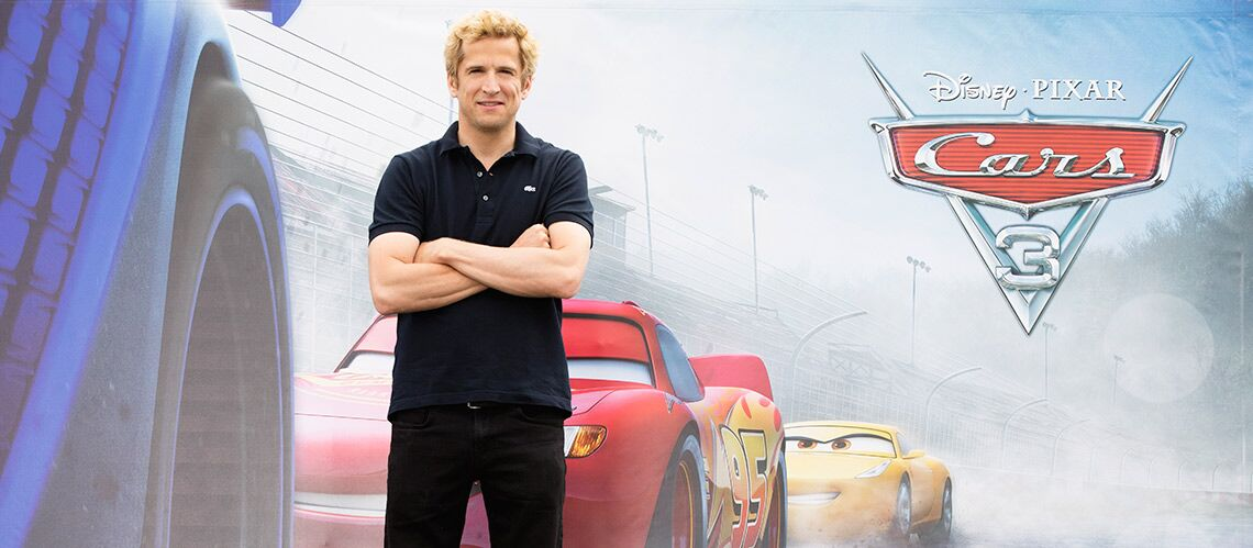 Guillaume Canet (Cars 3) : le person­nage de Flash McQueen le suit partout!