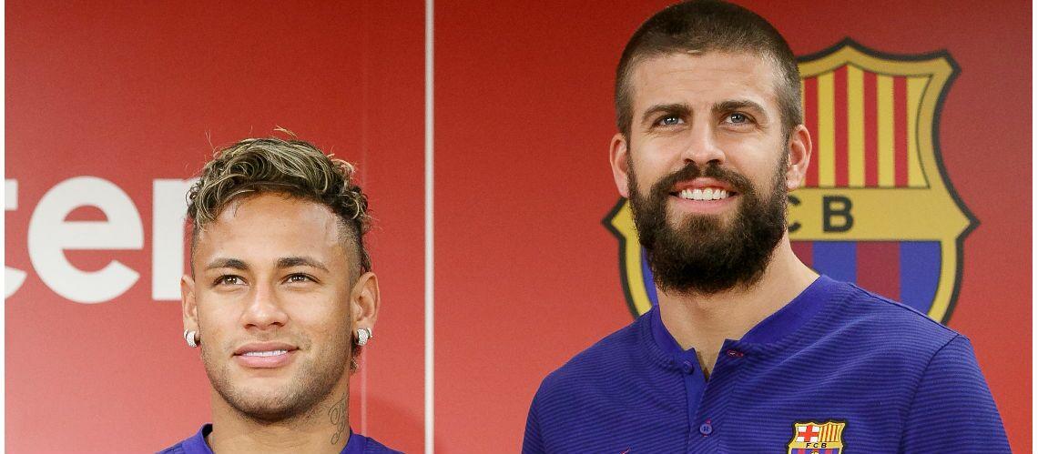 A cause de Neymar, Gérard Piqué est la risée du web