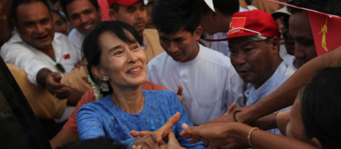 Aung San Suu Kyi: «cela va être le début d'une nouvelle ère»