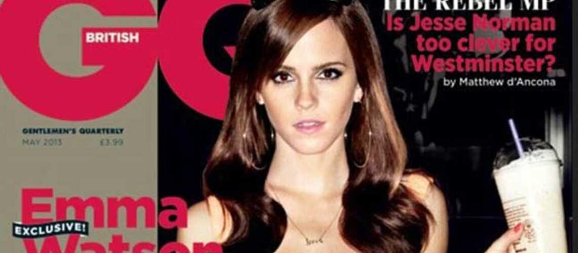 Emma Watson, sexy en diable pour GQ