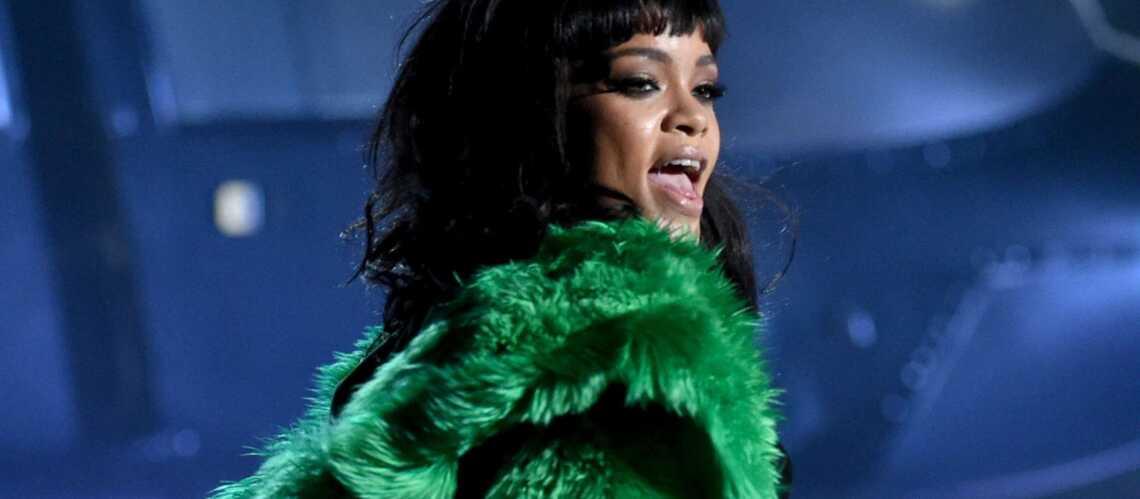 Debout Jimmy Kimmel, c'est Rihanna!