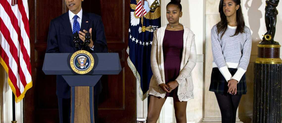 Sasha et Malia Obama, pas assez classes?