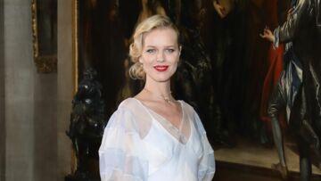 Eva Herzigova illumine le Palais de Blenheim