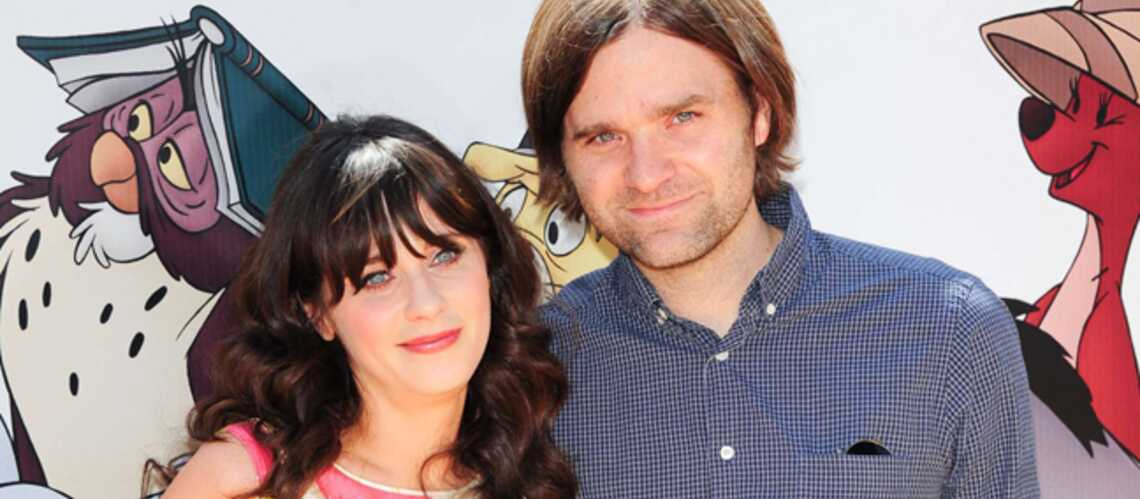 zooey descha nel et ben gibbard ils divorcent gala. Black Bedroom Furniture Sets. Home Design Ideas